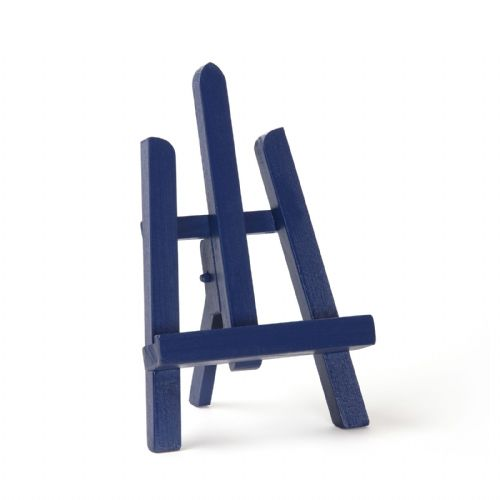 "Navy Blue Colour Easel Essex 11"" - Beech Wood"